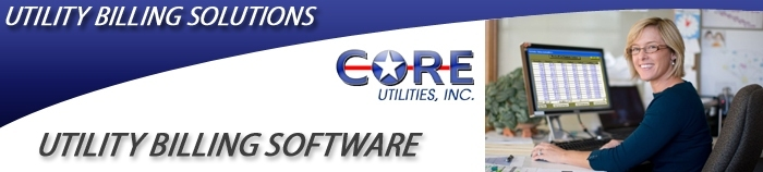 CORE Utilities, Inc. is a utility billing software company specializing in water, sewer, refuse, and garbage utility billing programs.